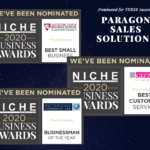 Paragon Sales Solutions Nominated for THREE Awards